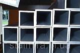 Труба алюминиевая прямоугольная 100/20, толщина стенки 2, марка АД31, Д16Т, АД0, АМг2, АМг3, Д1, фото 5