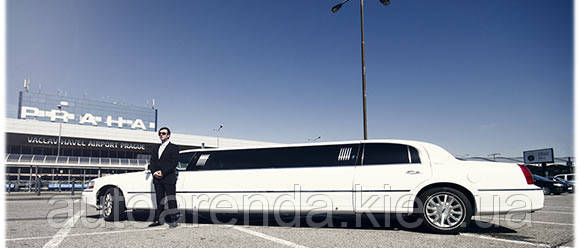 Аренда нового лимузина Линкольн на 10 мест