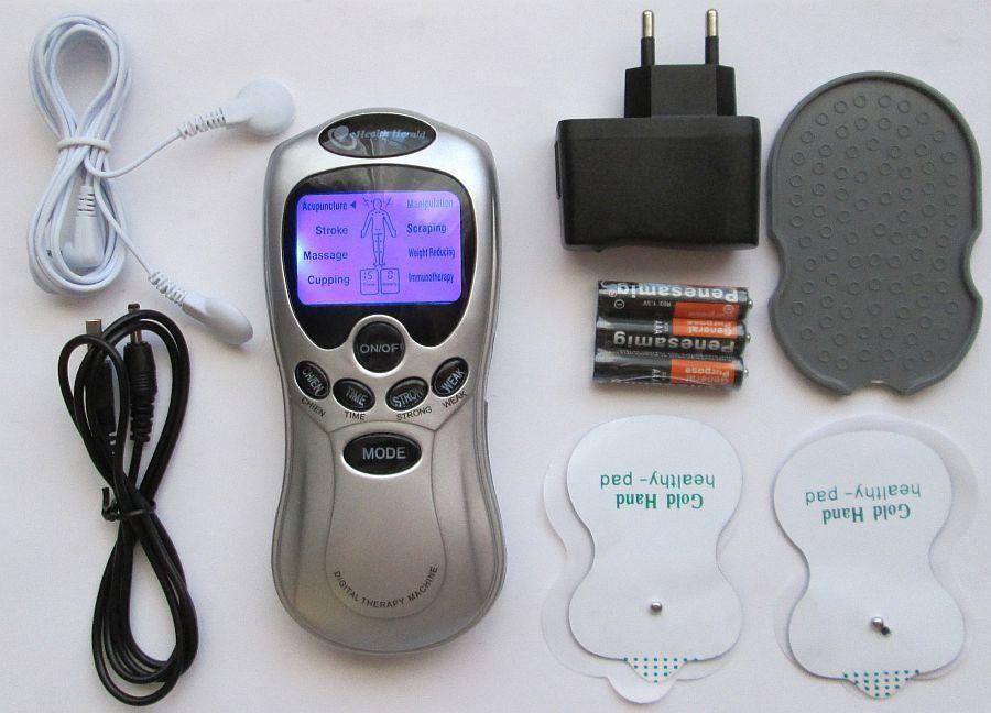 Биоимпульсный эхо массажер Digital Therapy Mashine с подсветкой
