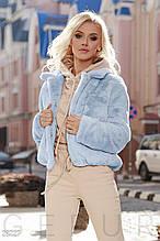 Теплая меховая куртка