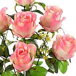 Букет атласных бутонов роз Max, 57см, фото 2