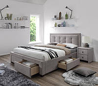 Ліжко двоспальне в спальню Польша Evora 160*200 Halmar