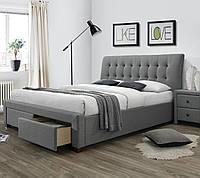 Ліжко двоспальне в спальню Польша Percy 160*200 Halmar