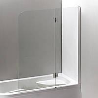 Шторка для ванны Eger 599-120CH/R профиль хром