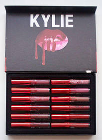 Набор матовых помад Kylie Matte Liquid Lipstick 12 штук