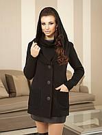 Демисезонное женское пальто из кашемира А-25, фото 1