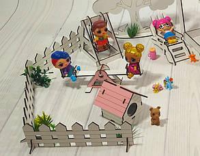 Набор мебели Дворик с беседкой 1110. 18 предметов, фото 2