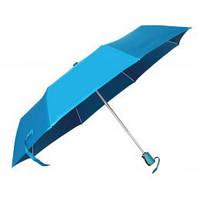 Голубой зонт складной автоматический, 9 цветов, с нанесением логотипов, для рекламы