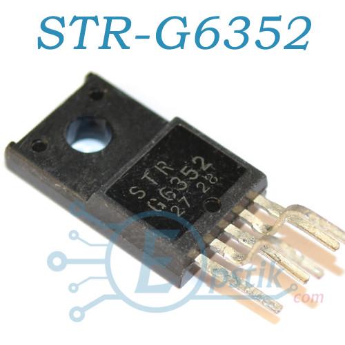 STR-G6352, контролер ШІМ, TO220F-5