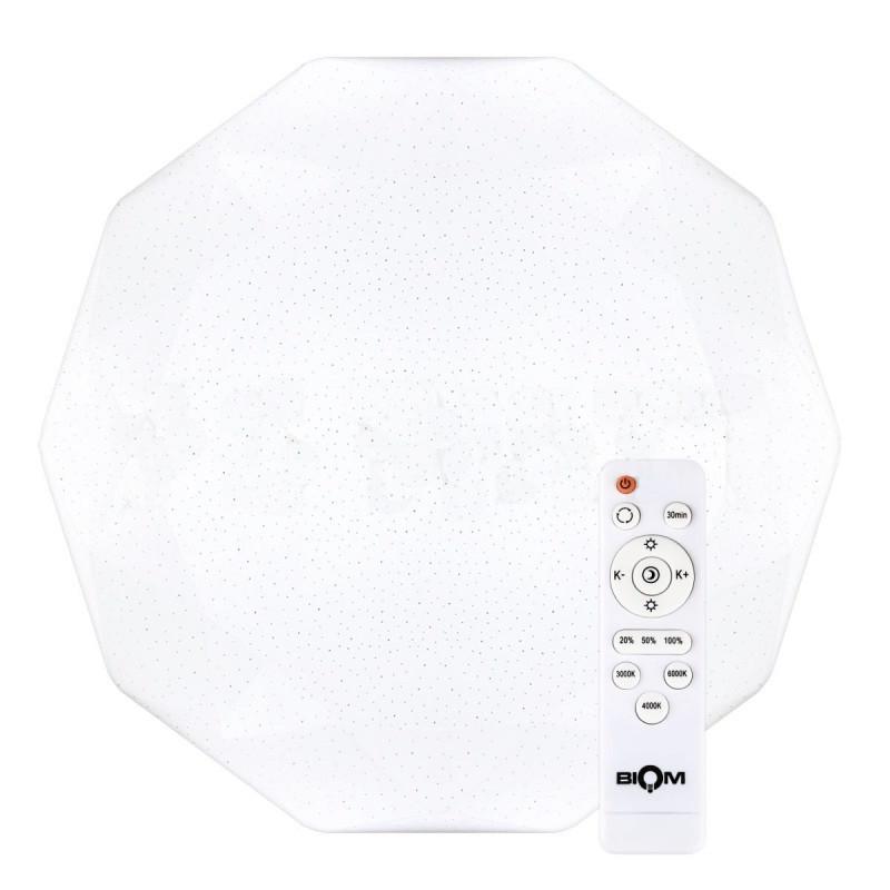Светильник светодиодный Biom SMART SML-R05-80 3000-6000K 50Вт с д/у