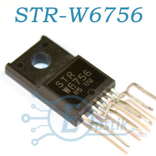 STR-W6756, контролер ШІМ, TO220F-6