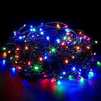 Уличная новогодняя светодиодная гирлянда 2.5Line 100M-U мульти 100Led , фото 1