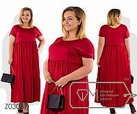 Платье-миди прямого кроя из шелка с ювелирным вырезом коротким рукавом высокой талией присборенной, 2 цвета