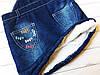 Детский стильный джинсовый сарафан, Турция. МО-11-1218  , фото 4