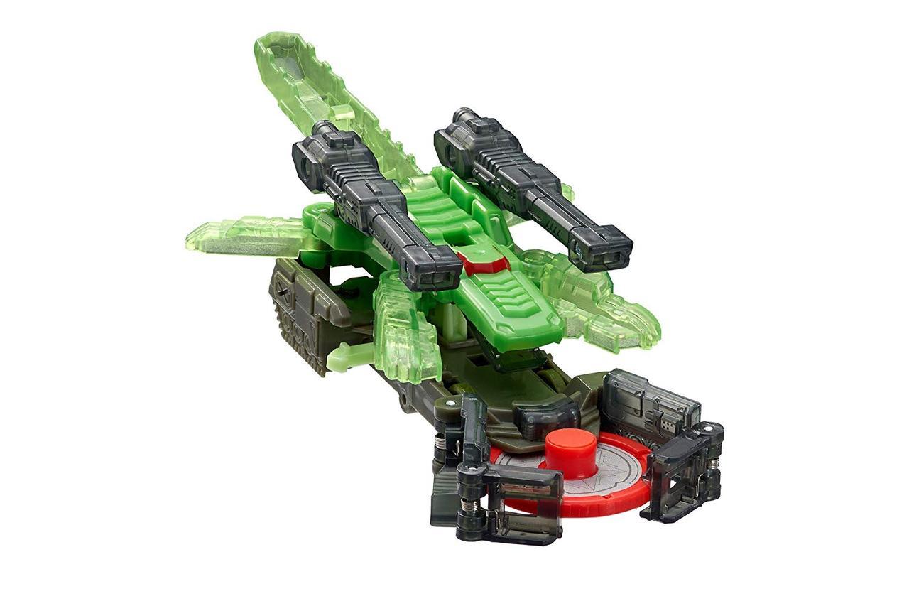Машинка-трансформер Дикие Скричеры Крокшок / Screechers Wild Level 2 Crocshock