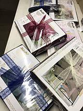 Постельное бельё семейное страйп-сатин люкс (10811) TM KRISPOL Украина, фото 2