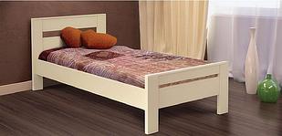 Ліжко 80*200 односпальне з натурального дерева Селена Летро