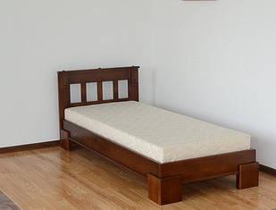 Ліжко односпальне 80*200 з натурального дерева Ярина Летро