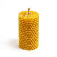 Свеча Восковая Eco Candles Классическая (8,5х4,5 см), эко свечи из вощины