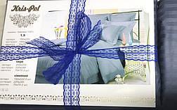 Постельное бельё семейное страйп-сатин люкс (10809) TM KRISPOL Украина, фото 3