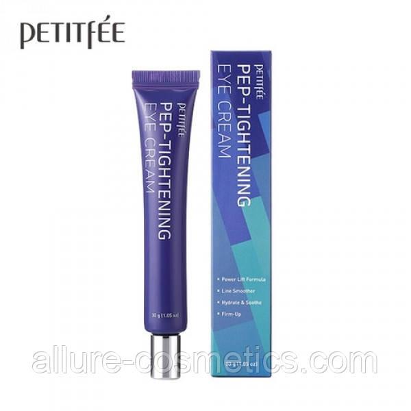Пептидный крем для глаз c агавой PETITFEE Pep-Tightening agave Eye Cream