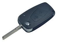 Заготовка FIAT выкидной ключ 3 кнопки (корпус)
