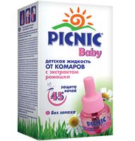 Жидкость от комаров для детей Picnic Baby 45ночей