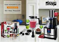 Кухонный комбайн DSP Mix 9 в 1 KJ3024, блендер стационарный, кухонный процессор