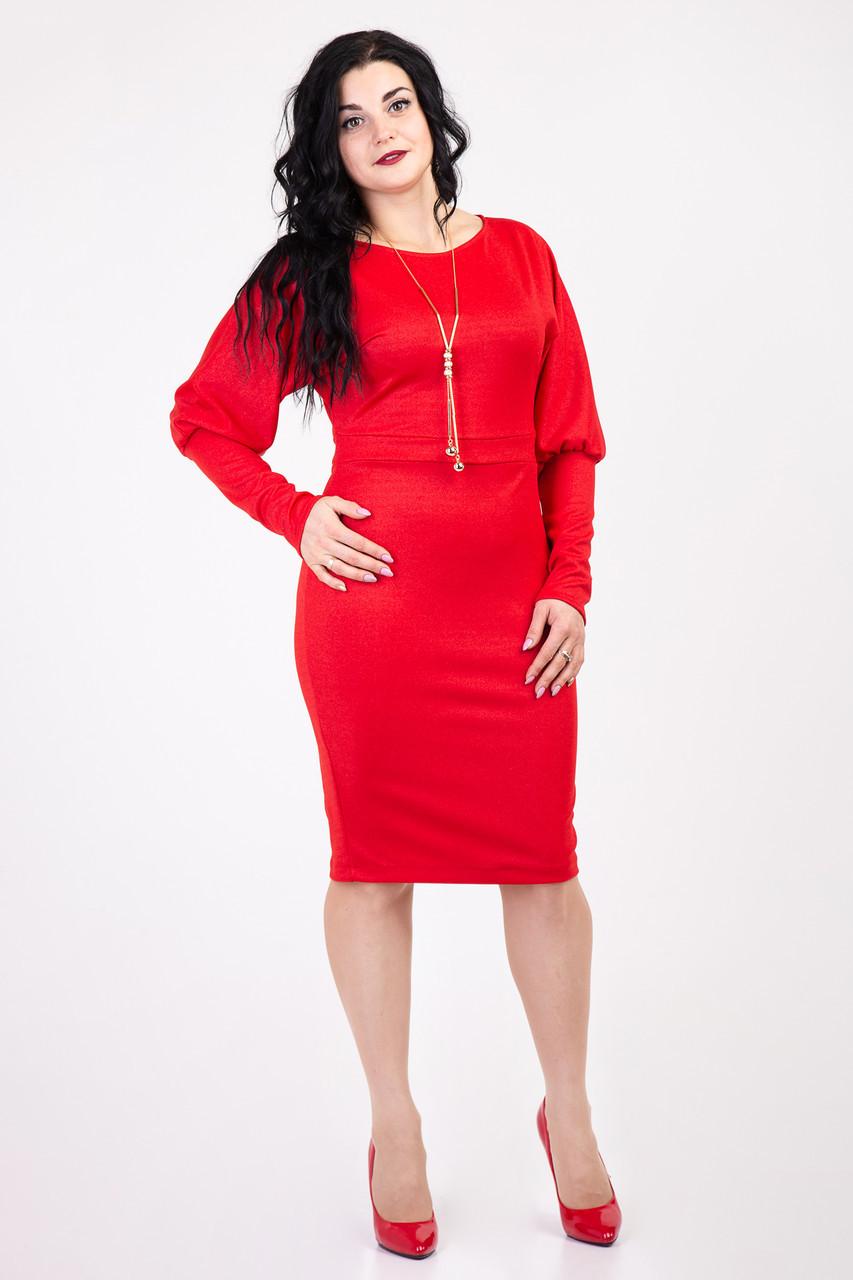 Стильное приталенное платье для вечеринок 152