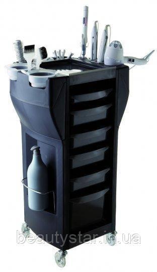 Перукарня візок чорного кольору UP GRADE MIX BLACK (Італія)