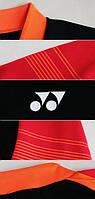 Футболка Yonex 10128 Black/Red S
