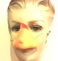 Нос карнавальный накладной на резинке