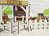 Дворик для кукол Веселое ранчо с механической Мельницей 1202. 26 предметов, фото 2