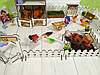 Дворик для кукол Веселое ранчо с механической Мельницей 1202. 26 предметов, фото 4
