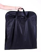 Чехол для объемной верхней одежды с ручками 60x150x15 см Kronos Top Черный (org_HCh-150-15)