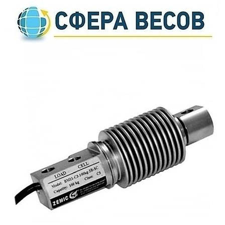 Тензодатчик веса Zemic BM11-C3-3B-SC (20kg, 30kg, 50kg, 100kg, 200kg, 350kg, 500kg), фото 2