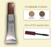 Цветной гель  для подкрашивания и укладки бровей  (Hint of Tint)