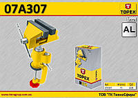 Тиски поворотные W-75мм,  TOPEX  07A307