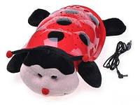 Божья коровка черепаха ночник-проектор звездного неба музыкальная cartoon ladybird night sky