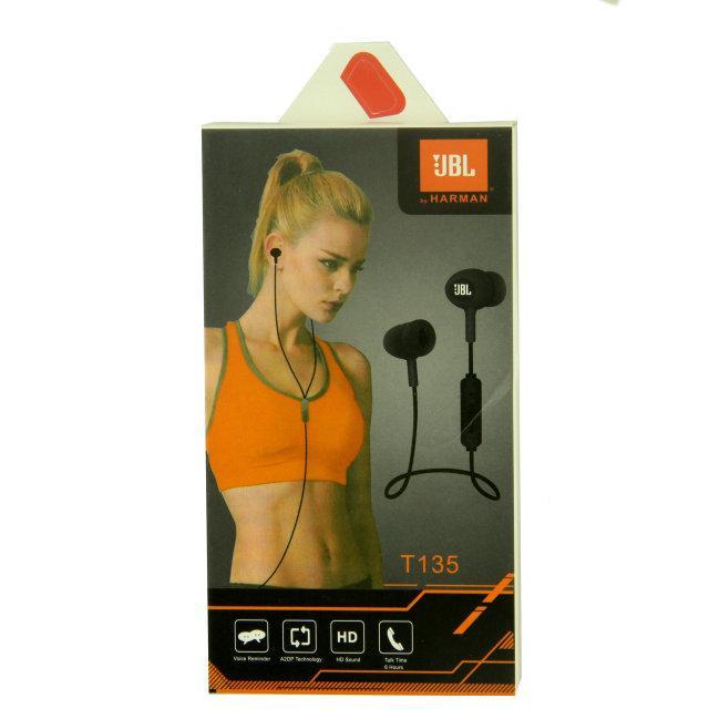 Наушники earphones JBL T135, фото 1