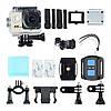 Екшн камер - Full HD 4K Wi-Fi з пультом ДУ, водостійким кейсом, wi-fi, кріплення, фото 4