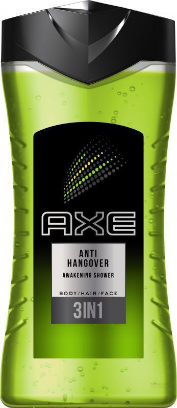 "Гель для душа AXE ""Anti Hangover 3 in 1""  (250мл.)"