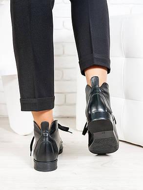 Ботинки Gretta черная кожа 6658-28, фото 2