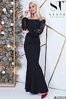 Вечірній жіноче плаття норма р. S,M,L ST Style, фото 1