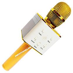 Караоке микрофон стерео колонка Q7
