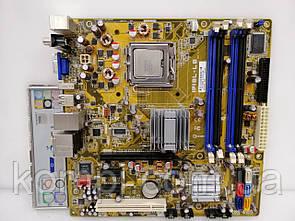 Материнская плата ASUS/HP IPIBL-LB +E7500 G33  S775/QUAD DDR2