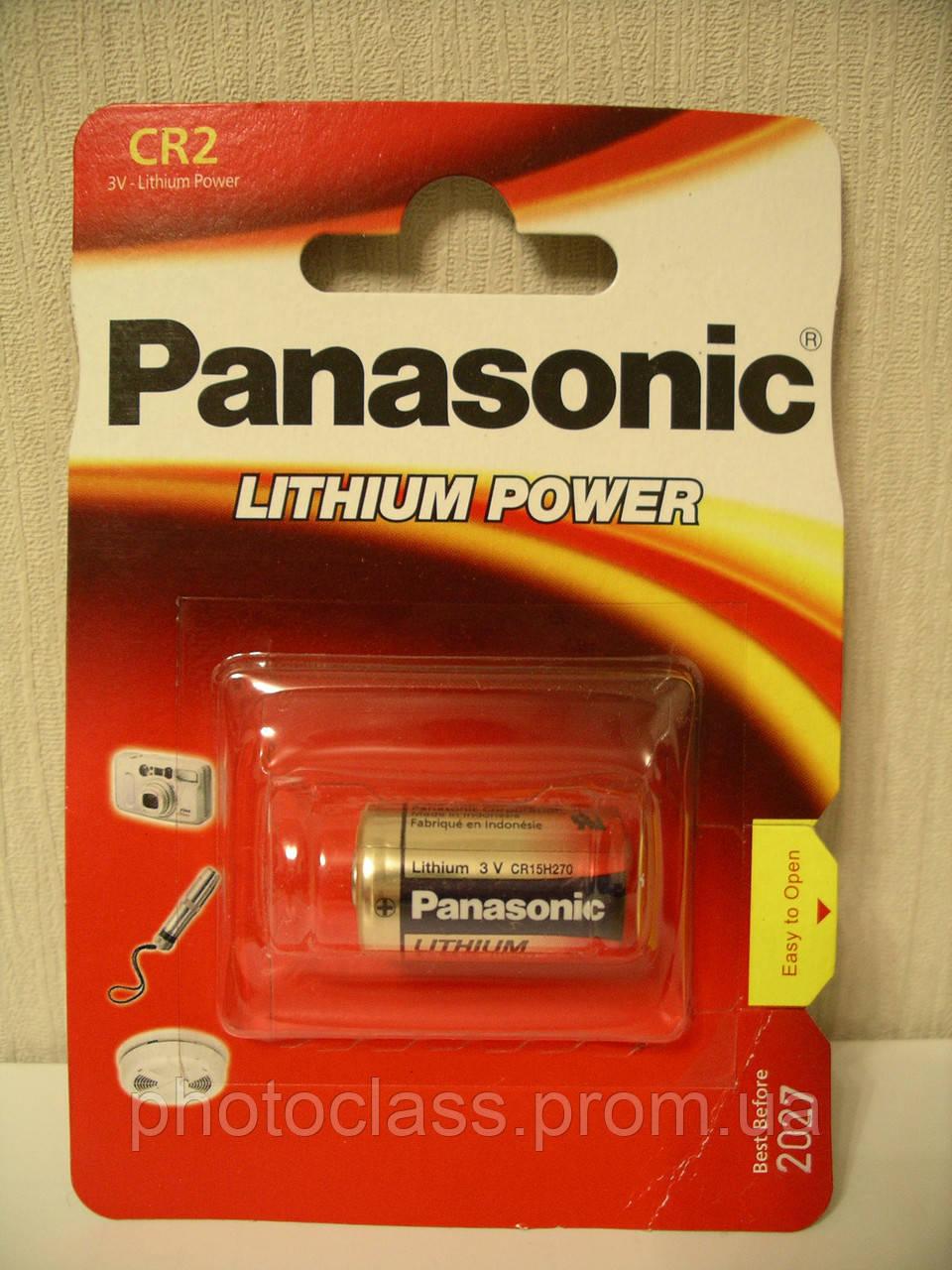 Panasonic Lithium Power CR-2L/1BP CR2, батарейка литиевая 3V