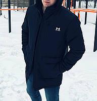Чоловіча зимова куртка парка under black хіт сезону 6ba6f2b56768b