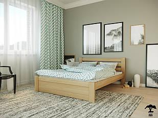 Ліжко односпальне 80х200  в спальню дерев'янне буковеЖасмін Лев