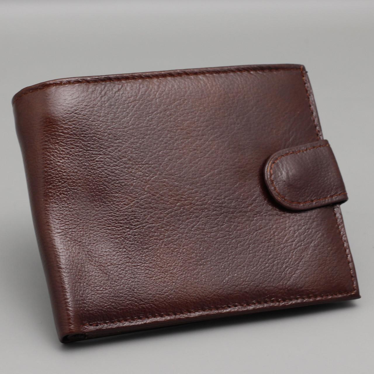 d769c348 Купить Кошелек мужской кожаный коричневый Vera Pelle в Харькове от ...
